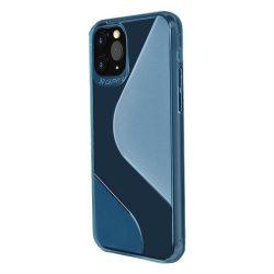 S-tok rugalmas borítóval TPU tok Samsung Galaxy A21S kék telefontok
