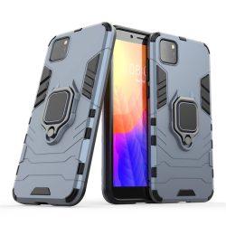 Ring Armor tok kitámasztható Kemény tok Huawei Y5p kék telefontok