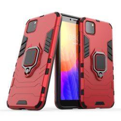 Ring Armor tok kitámasztható Kemény tok Huawei Y5p piros telefontok