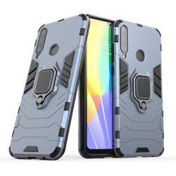 Ring Armor tok kitámasztható Kemény tok Huawei Y6p kék telefontok