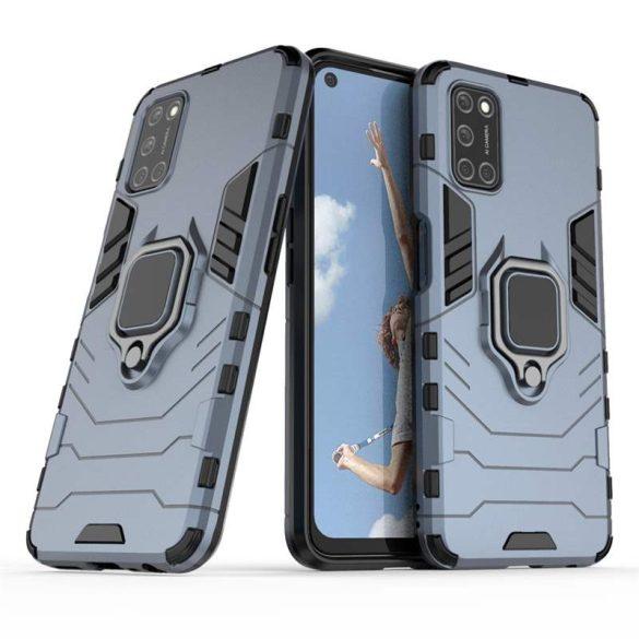 Ring Armor tok kitámasztható Kemény tok OPPO A72 / A52 kék telefontok