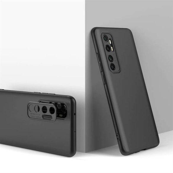 Wozinsky Mágneses Cam Slider tok egész testet fedő beépített elülső üveggel és kameranecsevédővel a Xiaomi Mi 10 Lite arany telefontok