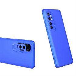 GKK 360 Protection tok Első és hátsó tok az egész testet fedő Xiaomi Mi Note 10 Lite blue telefontok