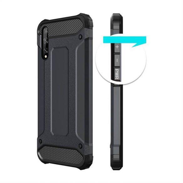 hybrid Armor tok Kemény tok Huawei P smart S / Y8p fekete telefontok
