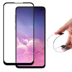 Wozinsky Full tok Flexi Nano üveg hybrid képernyővédő fólia kerettel Samsung Galaxy S10 Lite / Galaxy Note 10 Lite / Galaxy A71 fekete üvegfólia