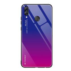 Gradiens Glass tartós edzett üveg tempered glass hátlap Huawei P smart 2019 rózsaszín-lila telefontok