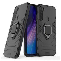 Ring Armor tok kitámasztható Kemény telefontok Xiaomi redmi Note 8T fekete telefontok
