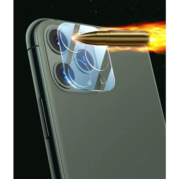 Wozinsky Full Fényképezőgép Glass szuper tartós 9H üvegfólia iPhone 12 Pro üvegfólia