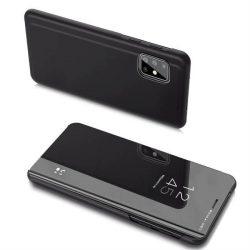 Clear View tok Samsung Galaxy A20s fekete telefontok