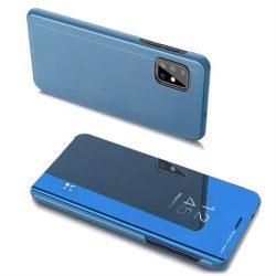 Clear View tok Samsung Galaxy A20s kék telefontok