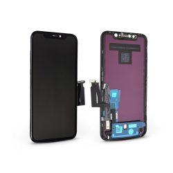 LCD kijelző érintőpanellel - Apple iPhone XR - HiPix kiváló minőségű, utángyártott - fekete