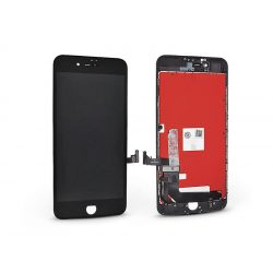 LCD kijelző érintőpanellel - Apple iPhone 7 Plus - HiPix kiváló minőségű, utángyártott - fekete