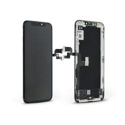 LCD kijelző érintőpanellel - Apple iPhone XS - GX HQ Hard OLED kiváló minőségű, utángyártott - fekete