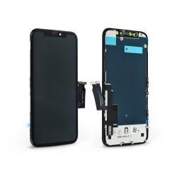 LCD kijelző érintőpanellel - Apple iPhone XR - Kingwo Incell kiváló minőségű, utángyártott - fekete