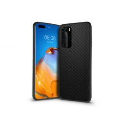 Huawei P40 hátlap - Liquid Air - fekete