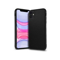 Apple iPhone 11 hátlap - Liquid Air - fekete