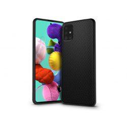 Samsung A515F Galaxy A51 hátlap - Liquid Air - fekete