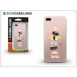 Apple iPhone 7 Plus/iPhone 8 Plus szilikon hátlap - BCN Caseland Sushi Tower - transparent