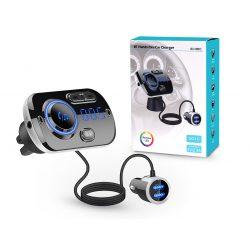 Extreme Bluetooth FM-transmitter/szivargyújtó töltő - USB QC3.0 + TF-kártyaolvasó - Extreme BC49BQ - fekete
