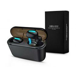 Extreme TWS Bluetooth sztereó headset v5.0 + töltőtok - Extreme HBQ-Q32 True Wireless Headset with Charging Case - fekete