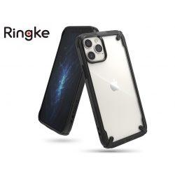 Apple iPhone 12/12 Pro ütésálló hátlap - Ringke Fusion X - black