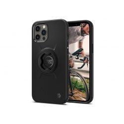 Apple iPhone 12/12 Pro ütésálló hátlap Gearlock MF100/MS100 kerékpárra szerelhető telefontartó / rögzítő rendszerhez -  Spigen Gearlock GCF132 - black