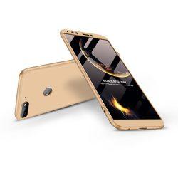 Huawei Y7 (2018)/Y7 Prime (2018)/Honor 7C hátlap  - GKK 360 Full Protection 3in1 - arany