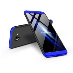 Samsung J415F Galaxy J4 Plus hátlap - GKK 360 Full Protection 3in1 - fekete/kék