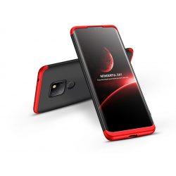 Huawei Mate 20 hátlap - GKK 360 Full Protection 3in1 - fekete/piros