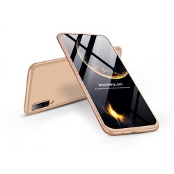 Samsung A505F Galaxy A50/A30s hátlap - GKK 360 Full Protection 3in1 - arany