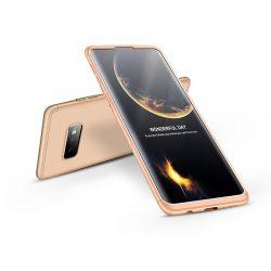 Samsung G970U Galaxy S10e hátlap - GKK 360 Full Protection 3in1 - arany