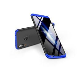 Huawei Y6 (2019)/Y6s (2019)/Honor 8A hátlap  - GKK 360 Full Protection 3in1 - fekete/kék