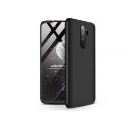 Xiaomi Redmi Note 8 Pro hátlap - GKK 360 Full Protection 3in1 - fekete