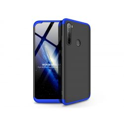 Xiaomi Redmi Note 8 hátlap - GKK 360 Full Protection 3in1 - fekete/kék