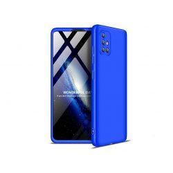 Samsung A715F Galaxy A71 hátlap - GKK 360 Full Protection 3in1 - kék
