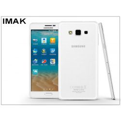 Samsung SM-A700F Galaxy A7 hátlap - IMAK Crystal Clear Slim - transparent