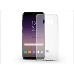 Samsung G955F Galaxy S8 Plus szilikon hátlap - Roar Ultra Thin 0.3 mm - transparent