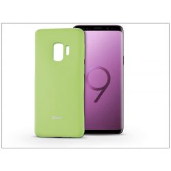 Samsung G965F Galaxy S9 Plus szilikon hátlap - Roar All Day Full 360 - lime