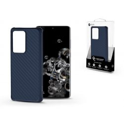 Samsung G988F Galaxy S20 Ultra szilikon hátlap - Roar Carbon Armor Ultra-Light Soft Case - kék
