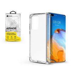 Huawei P40 szilikon hátlap - Roar Armor Gel - transparent