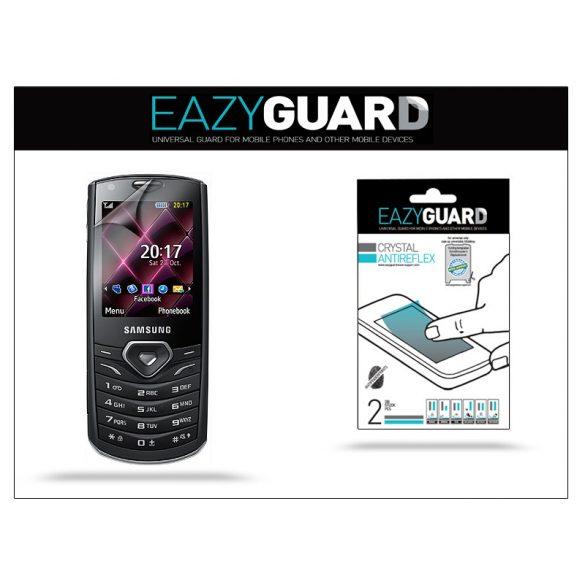 Samsung S5350 Shark képernyővédő fólia - 2 db/csomag (Crystal/Antireflex)