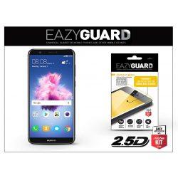 Huawei P Smart gyémántüveg képernyővédő fólia - Diamond Glass 2.5D Fullcover - fekete