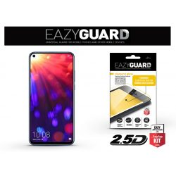 Huawei/Honor View 20 gyémántüveg képernyővédő fólia - Diamond Glass 2.5D Fullcover - fekete