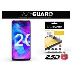Huawei/Honor 20 Lite/Honor 20e gyémántüveg képernyővédő fólia - Diamond Glass 2.5D Fullcover - fekete