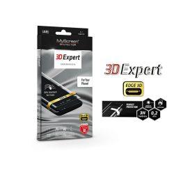 Huawei P30 Lite hajlított képernyővédő fólia - MyScreen Protector 3D Expert Full Screen 0.2 mm - transparent
