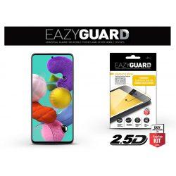 Samsung A515F Galaxy A51 gyémántüveg képernyővédő fólia - Diamond Glass 2.5D Fullcover - fekete