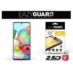 Samsung A715F Galaxy A71 gyémántüveg képernyővédő fólia - Diamond Glass 2.5D Fullcover - fekete