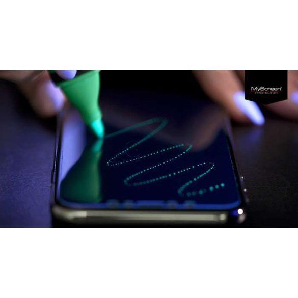 Samsung G770F Galaxy S10 Lite hajlított képernyővédő fólia - MyScreen Protector 3D Expert Full Screen 0.2 mm - transparent