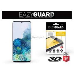 Samsung G980F Galaxy S20 gyémántüveg képernyővédő fólia - Diamond Glass 3D Fullcover - fekete