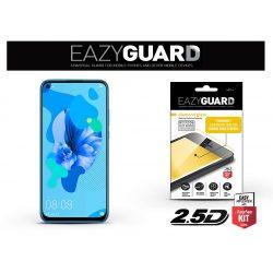 Huawei P40 Lite/P20 Lite (2019) gyémántüveg képernyővédő fólia - Diamond Glass 2.5D Fullcover - fekete